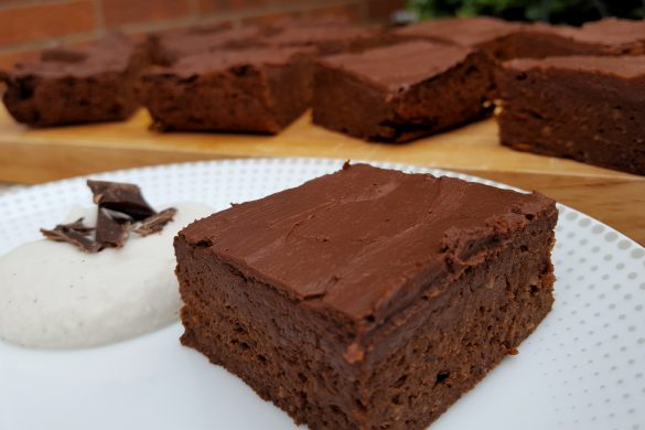 Iron-Rich Super Chocolatey Brownies