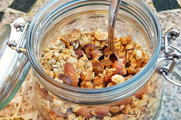 Easy Economical Granola
