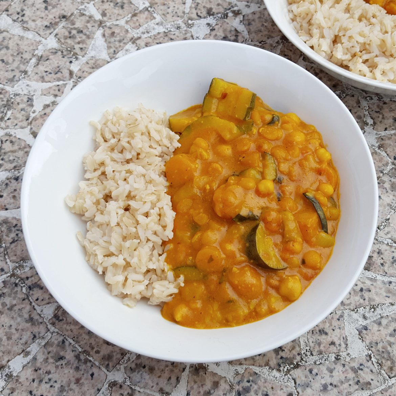 Mild Peanut & Coconut Curry