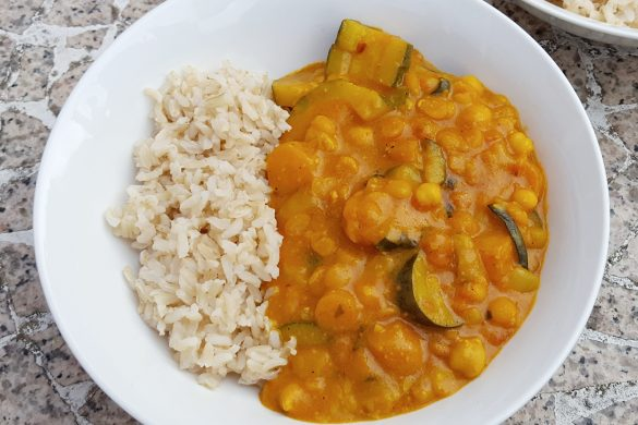 Mild Peanut & Coconut Curry
