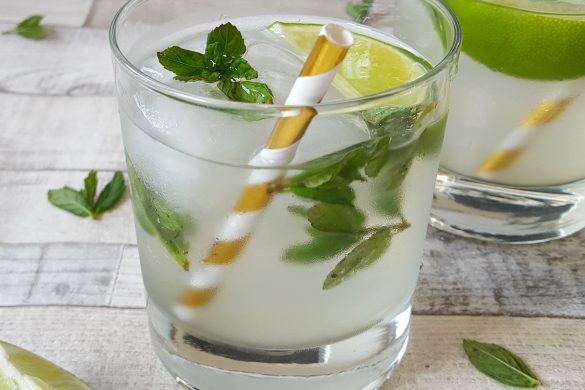 No Added Sugar Baby Mojito