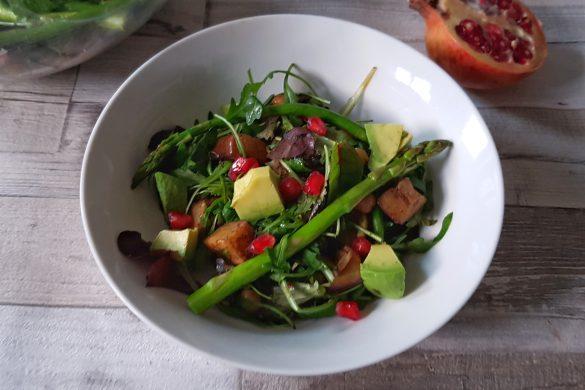 Warm Sweet & Smoky Veggie Salad