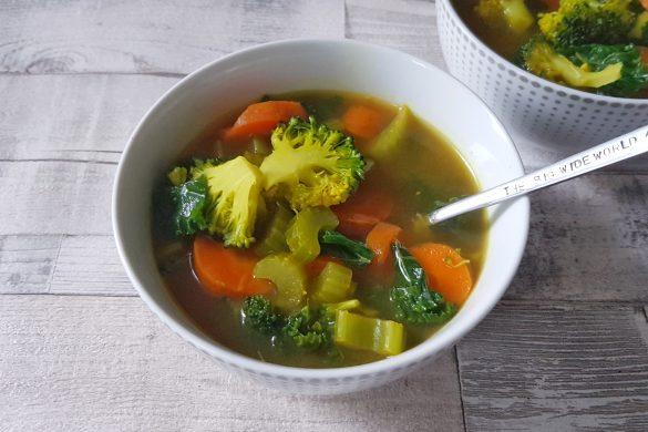 Bright & Breezy Detox Soup