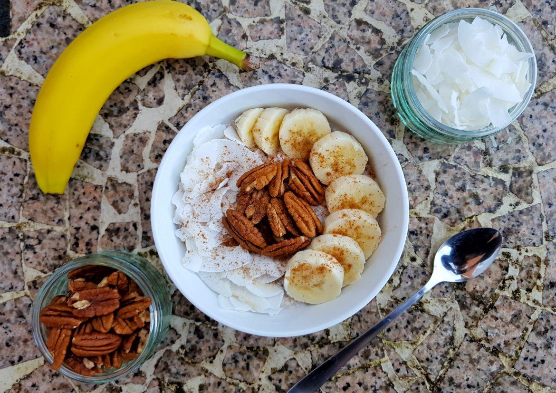 Winter Warmer Coconut-Banana Overnight Oats