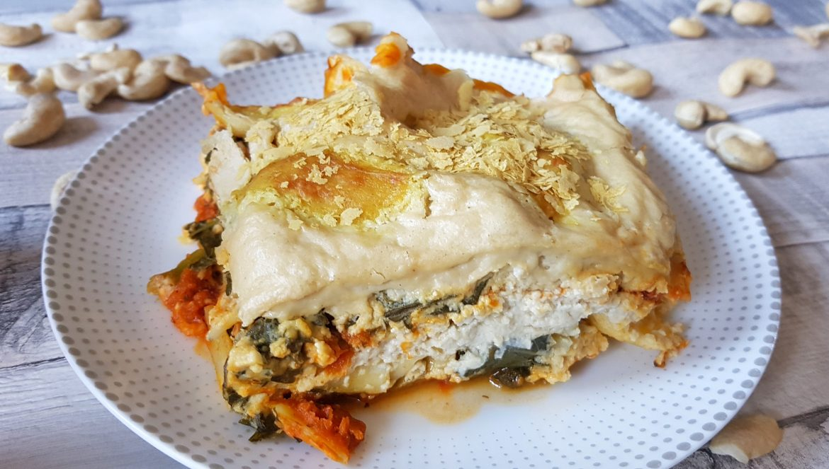 Pumpkin and Kale Pantry Lasagne