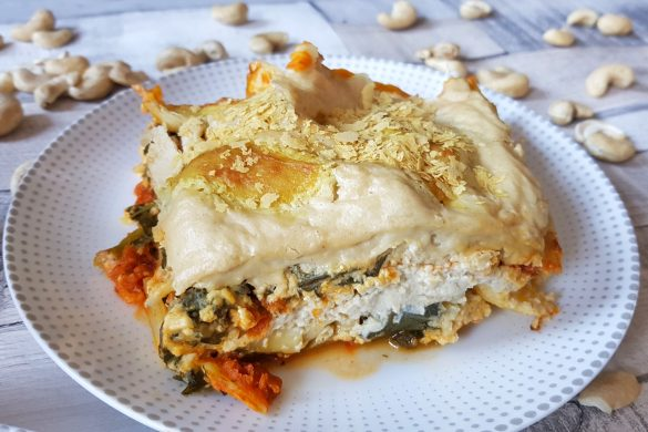 Pumpkin and Kale Pantry Lasagne
